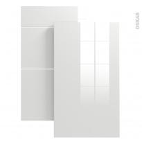 Echantillon - Meuble de cuisine - BORA Blanc - L7xH14