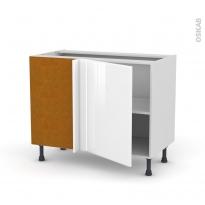 IRIS Blanc - Meuble angle bas  - 1 porte N°20 L50 - L100xH70xP58