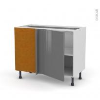 STECIA Gris - Meuble angle bas  - 1 porte N°20 L50 - L100xH70xP58