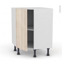 IKORO Chêne clair - Meuble angle prof.37  - 1 porte N°19 L40 - L65xH70xP37