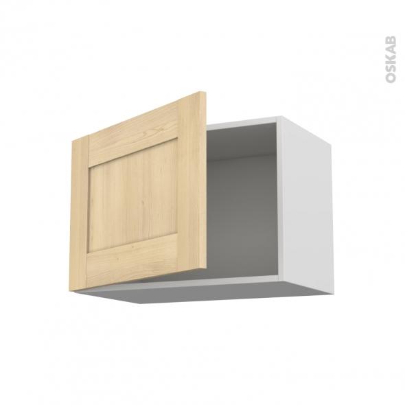 BETULA Bouleau - Meuble bas - 2 portes - 2 tiroirs à l'anglaise - L60xH70xP58
