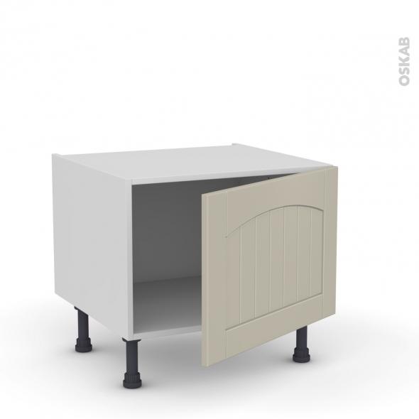 SILEN Argile - Meuble bas cuisine - 1 porte - L60xH41xP58 - droite