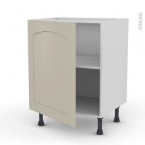 SILEN Argile - Meuble bas cuisine  - 1 porte - L60xH70xP58 - gauche