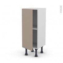 Meuble de cuisine - Bas - GINKO Taupe - 1 porte - L30 x H70 x P37 cm
