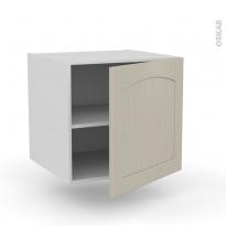 SILEN Argile - Meuble bas suspendu  - 1 porte - L60xH57xP58 - droite