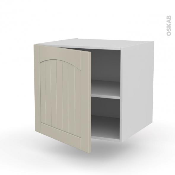 SILEN Argile - Meuble bas suspendu  - 1 porte - L60xH57xP58 - gauche