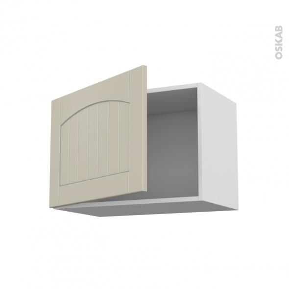 SILEN Argile - Meuble haut ouvrant H41  - 1 porte - L60xH41xP37 - gauche