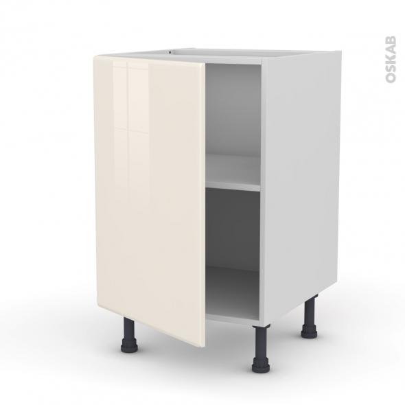 IRIS Ivoire - Meuble sous-évier  - 1 porte - L50xH70xP58