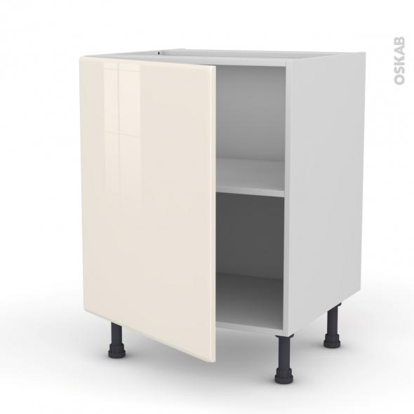 IRIS Ivoire - Meuble sous-évier  - 1 porte - L60xH70xP58