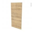 Finition cuisine - Joue N°33 - HOSTA Chêne naturel - L58 x H125 cm