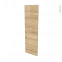 Finition cuisine - Joue N°34 - HOSTA Chêne naturel - L37 x H125 cm