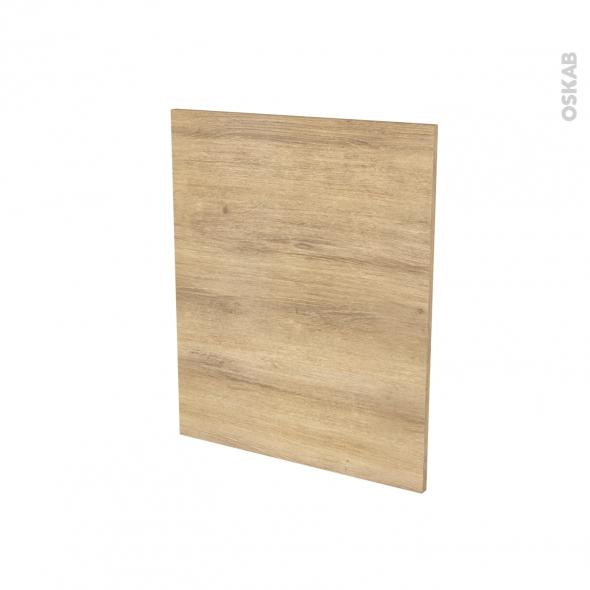 Finition cuisine - Joue N°29 - HOSTA Chêne naturel - Avec sachet de fixation - L58 x H70 x Ep.1.6 cm