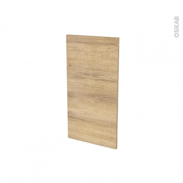 Finition cuisine - Joue N°30 - HOSTA Chêne naturel - Avec sachet de fixation - A redécouper - L37 x H41 x Ep.1.6 cm