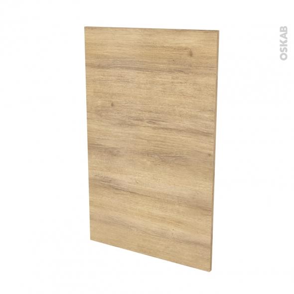 Finition cuisine - Joue N°31 - HOSTA Chêne naturel - Avec sachet de fixation - L58 x H92 x Ep.1.6 cm