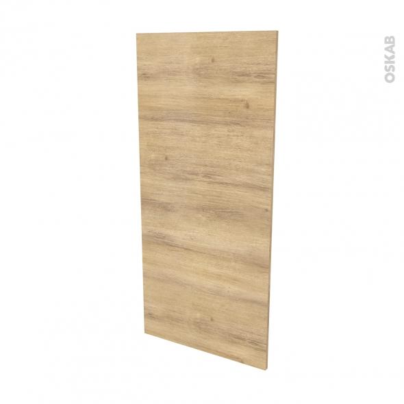 Finition cuisine - Joue N°33 - HOSTA Chêne naturel - Avec sachet de fixation - L58 x H125 x Ep.1.6 cm