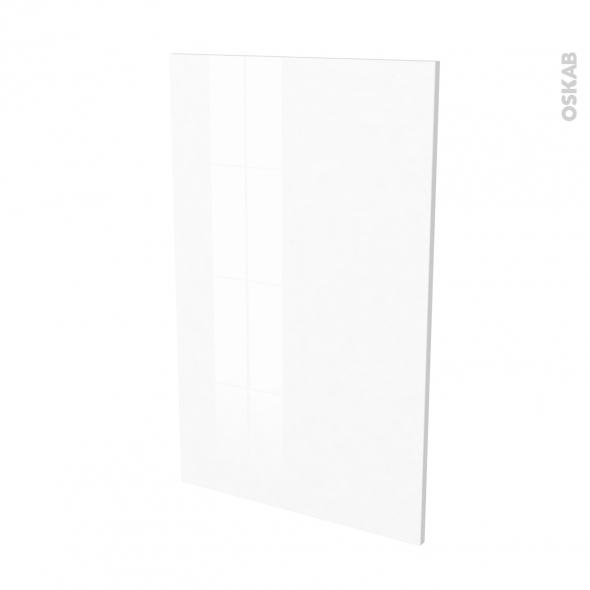 Finition cuisine - Joue N°31 - IRIS Blanc - Avec sachet de fixation - L58 x H92 x Ep.1.6 cm