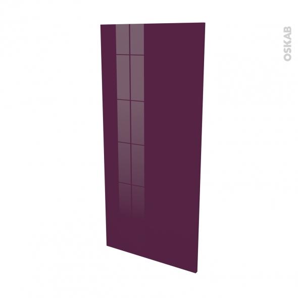 KERIA Aubergine - Rénovation 18 - joue N°80 - Avec sachet de fixation - L60 x H125 Ep.1.2 cm