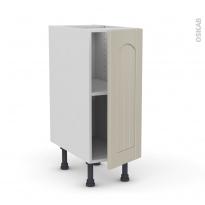 SILEN Argile - Meuble bas cuisine  - 1 porte - L30xH70xP58 - droite