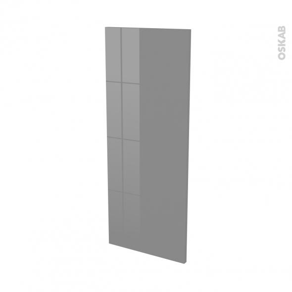 Finition cuisine - Joue N°32 - STECIA Gris - L37 x H92 cm