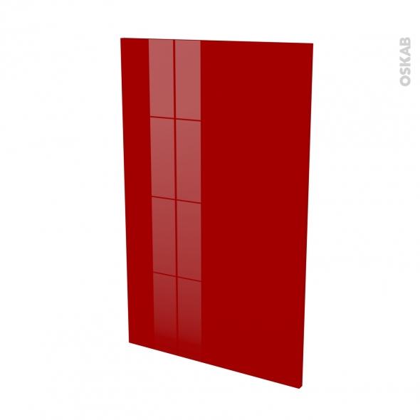 Finition cuisine - Joue N°31 - STECIA Rouge - L58 x H92 cm
