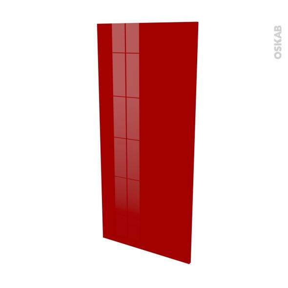 Finition cuisine - Joue N°33 - STECIA Rouge - L58 x H125 cm