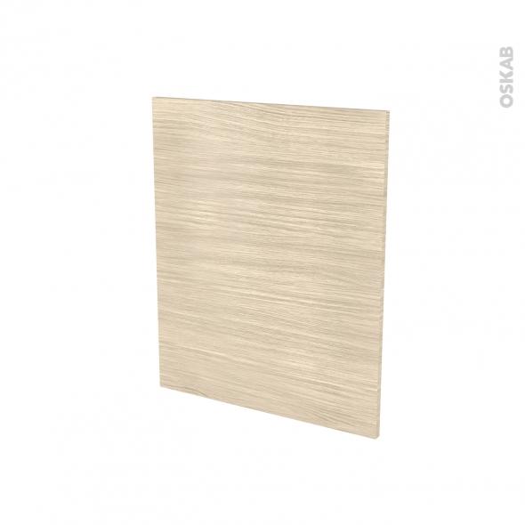 Finition cuisine - Joue N°29 - STILO Noyer Blanchi - Avec sachet de fixation - A redécouper - L58 x H41 x Ep.1.6 cm