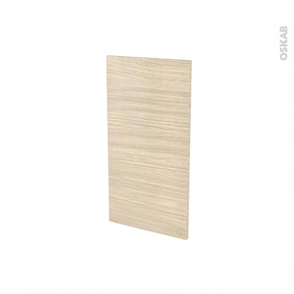 Finition cuisine - Joue N°30 - STILO Noyer Blanchi - Avec sachet de fixation - A redécouper - L37 x H35 x Ep.1.6 cm