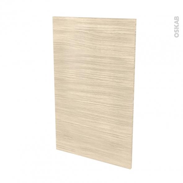 Finition cuisine - Joue N°31 - STILO Noyer Blanchi - Avec sachet de fixation - L58 x H92 x Ep.1.6 cm