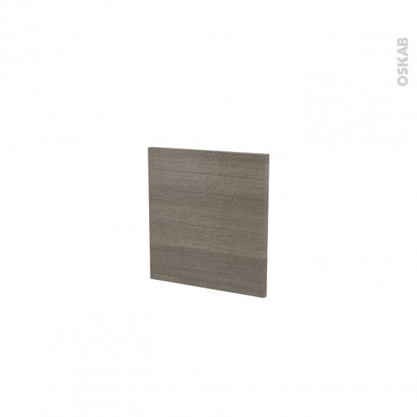 Finition cuisine - Joue N°30 - STILO Noyer Naturel - A redécouper - L37 x H41 cm