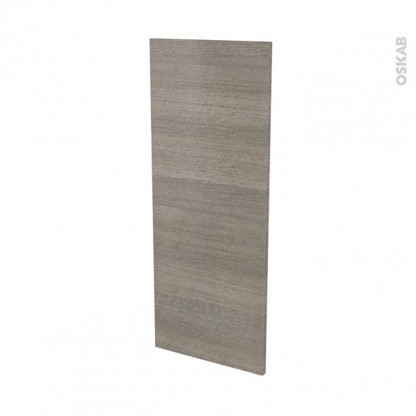 Finition cuisine - Joue N°32 - STILO Noyer Naturel - Avec sachet de fixation - L37 x H92 x Ep.1.6 cm