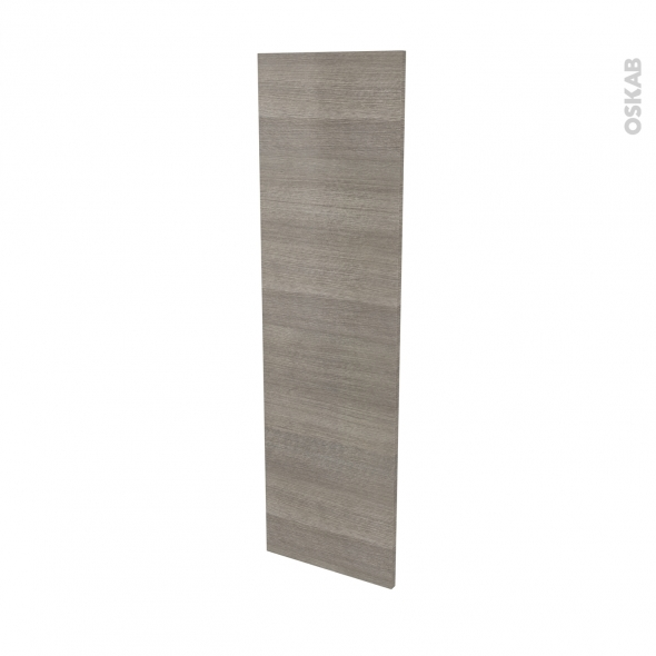Finition cuisine - Joue N°34 - STILO Noyer Naturel - L37 x H125 cm