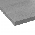 PLANEKO - Plan de travail N°305 - Décor Basalt gris - Chant Basalt gris - L205xl62xE3,8