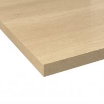 Plan de travail cuisine N°220 - Décor Chêne austral - Stratifié - Chant coordonné - L204 x l62 x E3.8 cm - PLANEKO