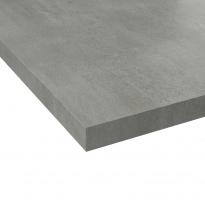 Plan de travail cuisine N°504 - Décor Fakto béton - Stratifié - Chant coordonné - L205 x l62 x E3,8 cm - PLANEKO