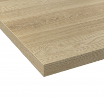 Plan de travail cuisine N°222 - Décor Chêne Prestige - Stratifié - Chant coordonné - L204 x l62 x E3.8 cm - PLANEKO