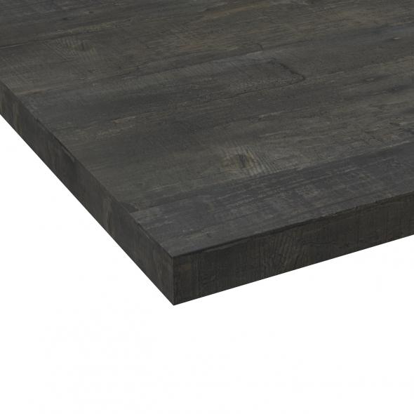 Chant plan de travail - Chêne noirci N°210 - Bande de chant cuisine - L304 x l4.5 x E0.1 cm - PLANEKO