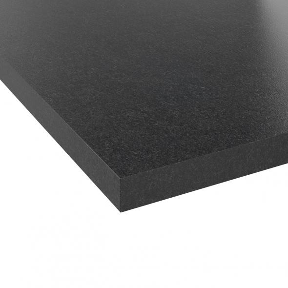 PLANEKO - Chant plan de travail N°15 - Granit Noir
