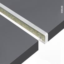Profil jonction droite - Plan de travail - 38mm - Bord droit - PLANEKO