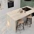 #Plan de travail cuisine N°213 - Décor Chêne clair Ikoro - Stratifié - Chant coordonné - L204 x l62 x E3.8 cm - PLANEKO