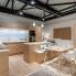 #Plan de travail de cuisine N°119 - Décor Blanc Mat FENIX NTM ® - Stratifié - Chant coordonné - L204 x l62 x E3.8 cm - PLANEKO