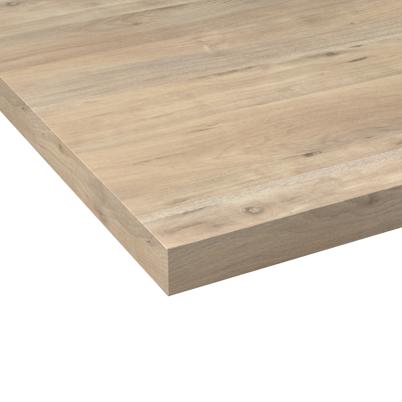 Nettoyer Un Plan De Travail Stratifié plan de travail cuisine n°215 décor chêne nordique stratifié, chant  coordonné, l204 x l62 x e3.8 cm, planeko