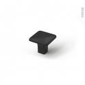 Poignée de meuble - de salle de bains N°66 - Noir mat - 3,2cm - HAKEO