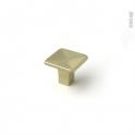 Poignée de meuble - de cuisine N°67 - laiton brossé - 3,2cm - SOKLEO