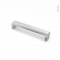 Poignée de meuble - de cuisine N°5 - Inox brossé - 16,8 cm - Entraxe 160 mm - SOKLEO