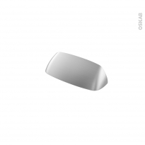 Poignée de meuble - de cuisine N°50 - Inox brossé - 9 cm - Entraxe 64 mm - SOKLEO