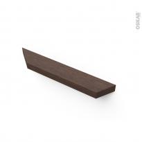 Poignée de meuble - de cuisine N°80 - Noyer - 20 cm - Entraxe 160 mm - SOKLEO