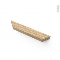 Poignée de meuble - de cuisine N°81 - Frêne naturel - Entraxe 160 mm - SOKLEO