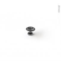 Poignée de meuble - de cuisine N°87 - Argent vieilli - 3,1 cm - SOKLEO