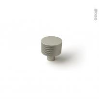 Poignée de meuble - de salle de bains N°77 - Inox brossé - 2,4cm - HAKEO