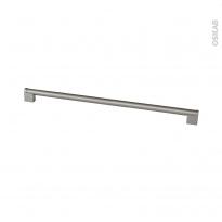 SOKLEO - Poignée de cuisine N°38 - Inox brossé -  61cm - Entraxe 582